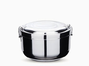 2 Layer Double Walled Stainless Steel Food Container