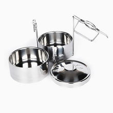 Load image into Gallery viewer, 3 Tier Stainless Steel Tiffin Food Container