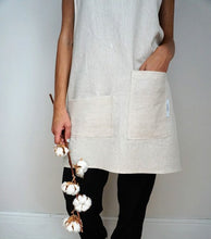 Load image into Gallery viewer, Linen Pinafore - Cross Back Apron