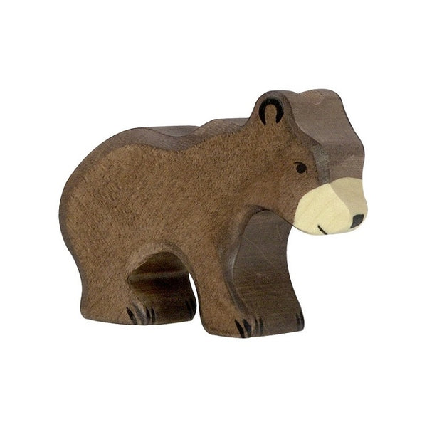 Wood Baby Brown Bear
