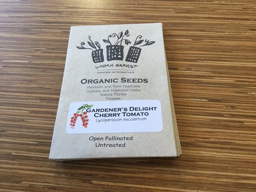 Gardener's Delight Cherry Tomato organic seeds Urban Harvest