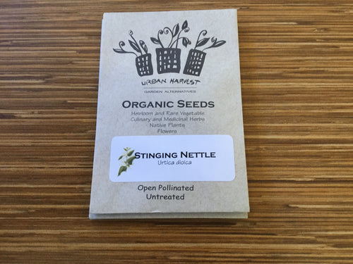 Stinging Nettle organic seeds Urban Harvest