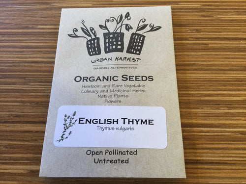 English Thyme organic seeds Urban Harvest
