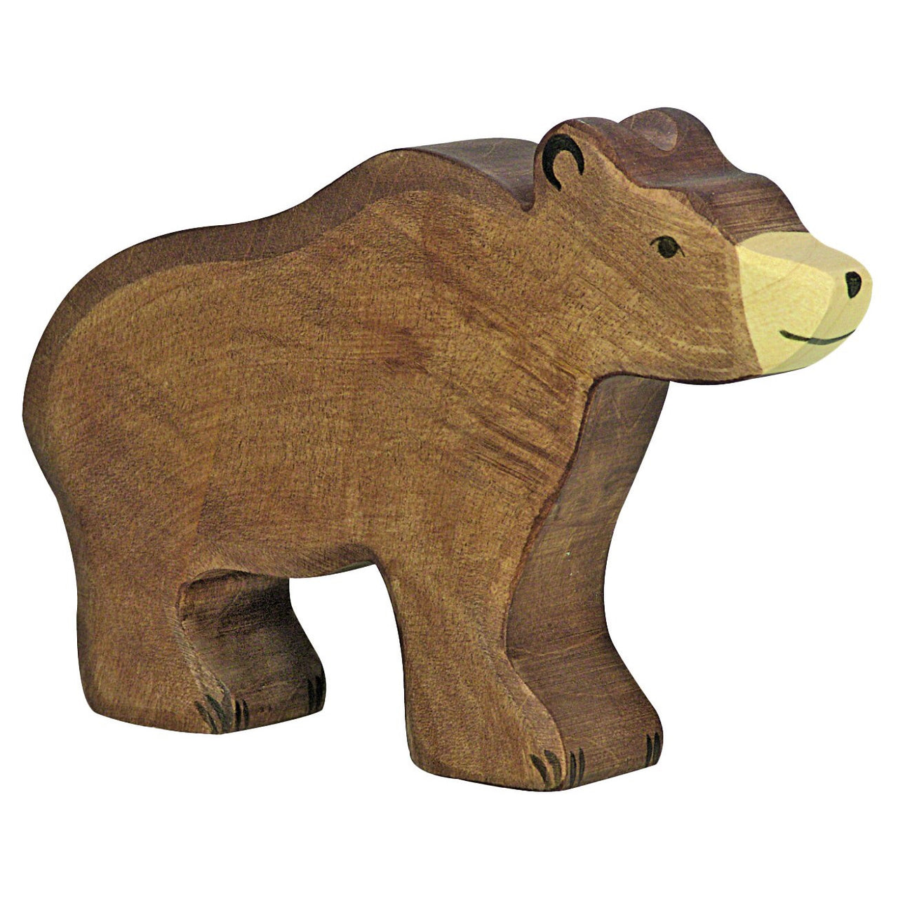 Wood Brown Bear