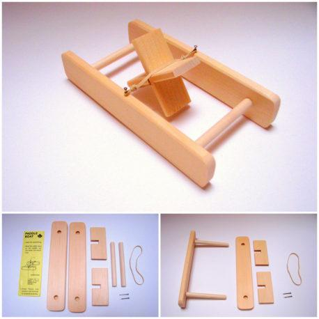 Wood Paddle Boat Kit