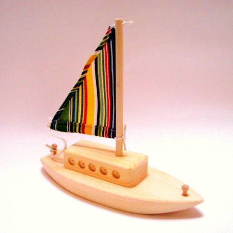 Wood Sailboat