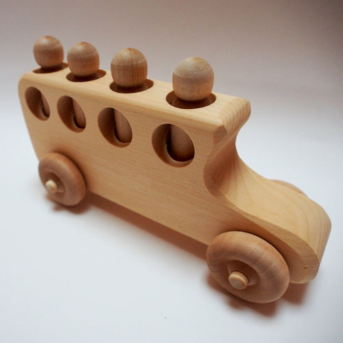 Wood School Bus