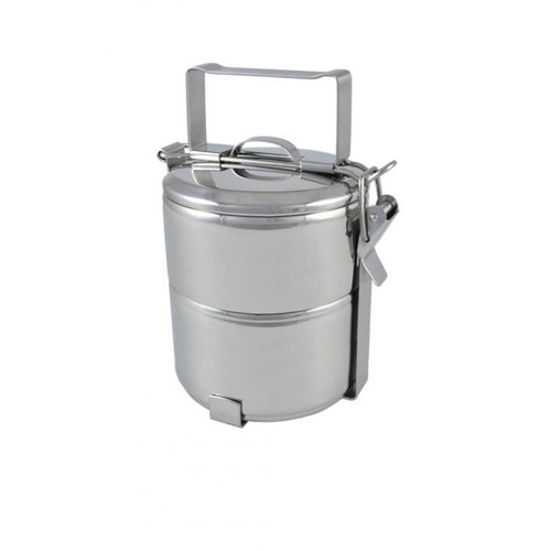 2 Tier Stainless Steel 12cm Tiffin