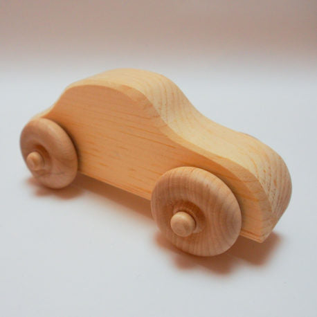 Wood Vintage Race Car