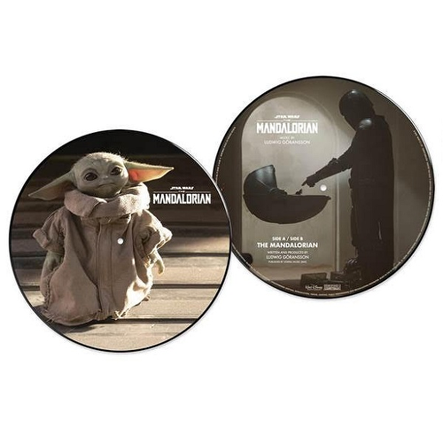 Ludwig Göransson - Star Wars: The Mandalorian (Baby Yoda Picture Disc)