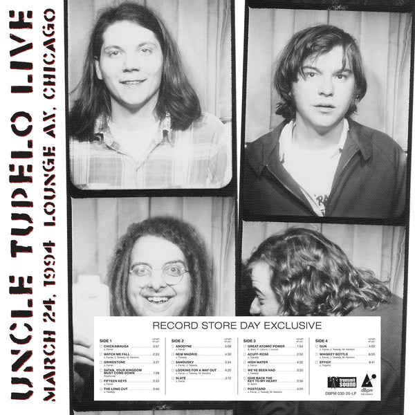 Uncle Tupelo - Live at Lounge Ax: March 24, 1994 (RSD20 Black Friday)
