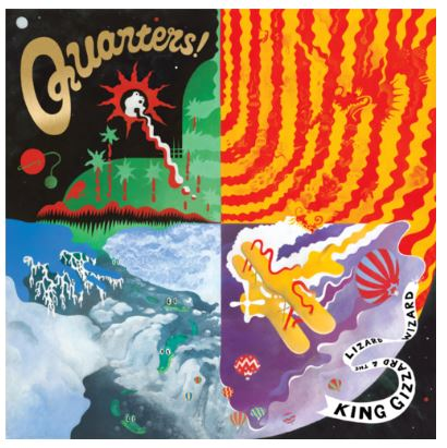 King Gizzard & The Lizard Wizard - Quarters (LRSD 2020)