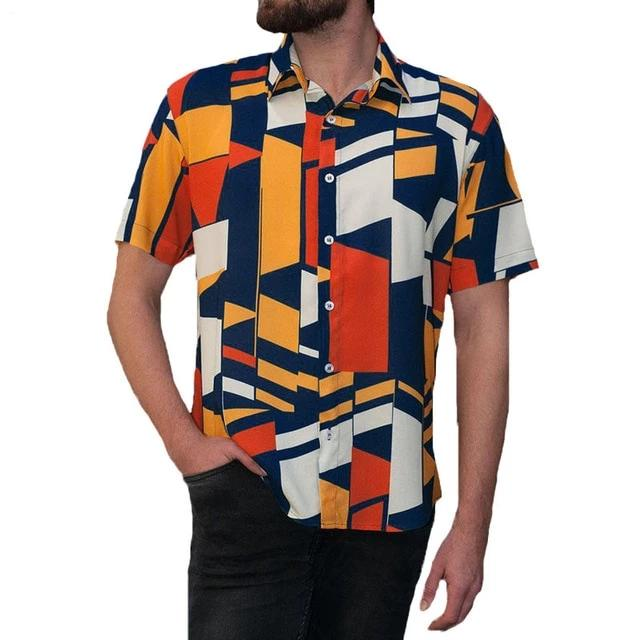Abstract Polygonal Shapes Tee