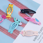 Kawaii Snap Hair Clips 6pc