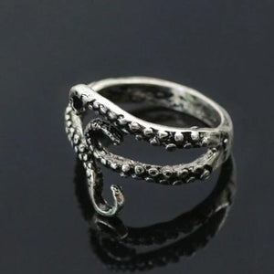 Metal Octopus Tentacles Unisex Ring