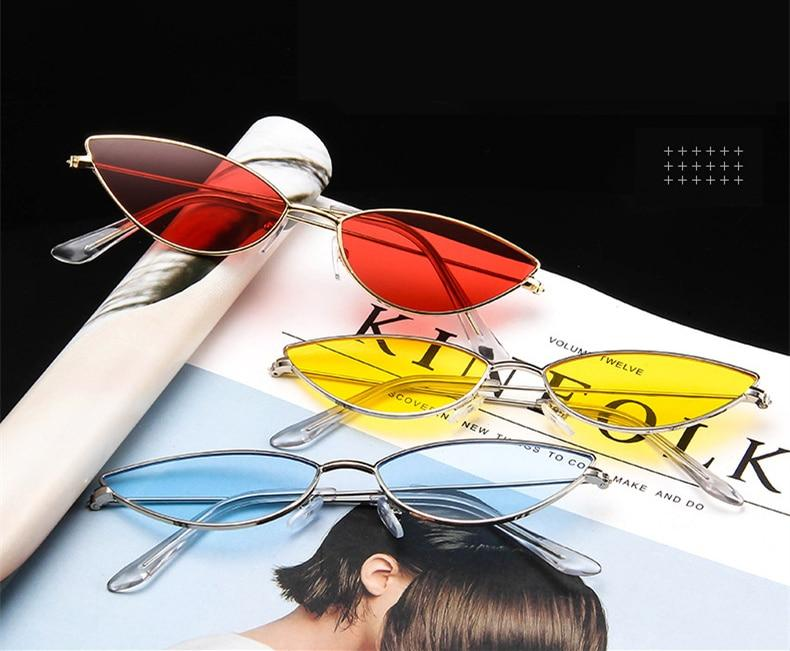 Eyewear Type: Sunglasses Item Type: Eyewear Brand Name: yooske Gender: Women Style: Cat Eye Department Name: Adult Model Number: TYJ796