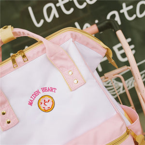 Milk Book Bag - Strawberry, Donut, Chocolate, Lollipop, Banana
