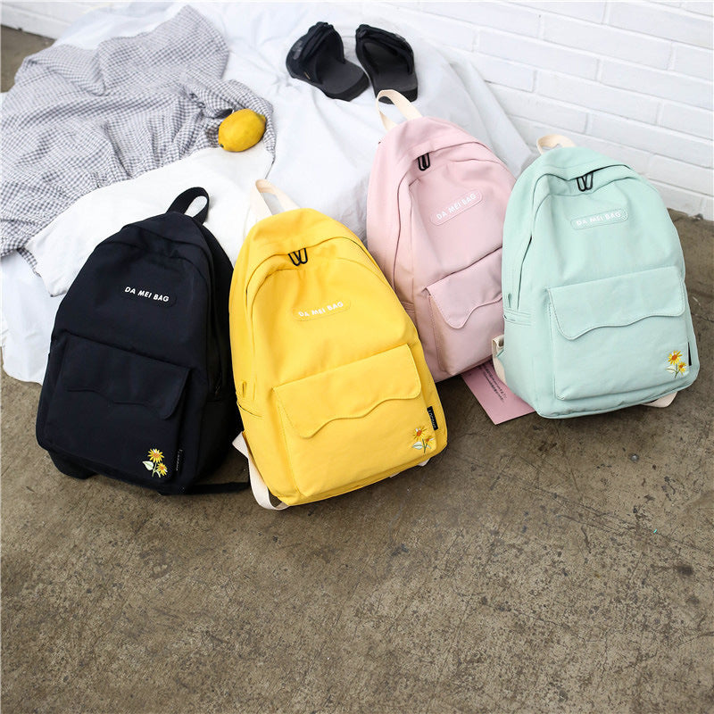 Gender: Unisex Backpacks Type: Softback Decoration: pocket Closure Type: zipper Pattern Type: Letter