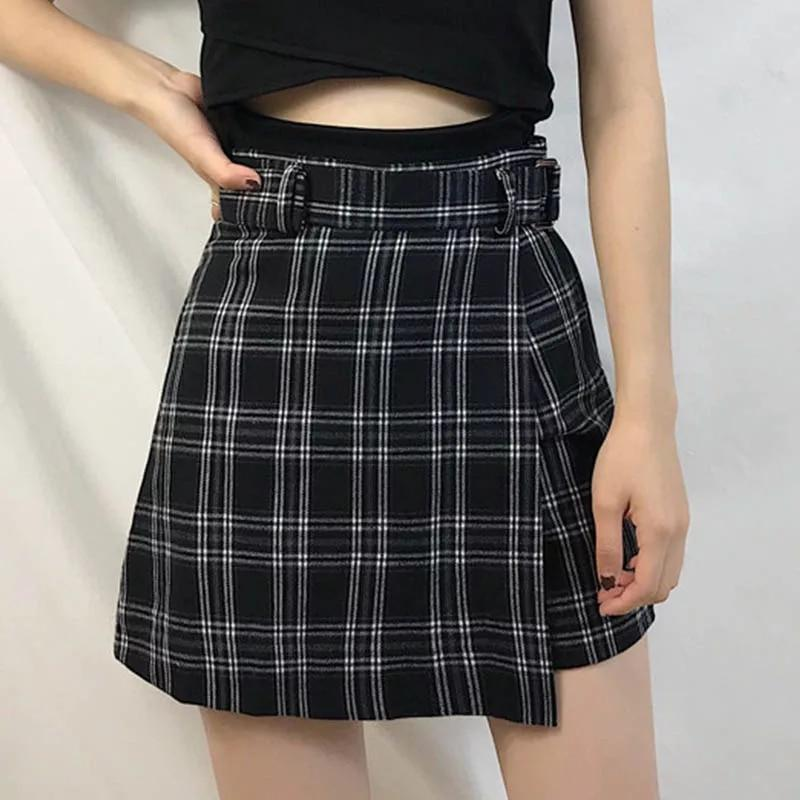 Material: COTTON Material: Polyester Material: Spandex Model Number: 002 Waistline: empire Pattern Type: Plaid Silhouette: A-Line Style: Japan Style Decoration: NONE Gender: Women Dresses Length: Above Knee, Mini