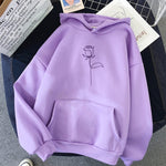 Rose Hoodie - Multiple Colors