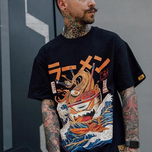 Item: Japanese Harajuku T-Shirt Men 2018 Summer Hip Hop T Shirts Gender: Men Women Boys Girls Unisex Season: Spring Summer Autumn Tshirt Material: High Quality, 100 Cotton Specialty: Japanese Charater, Noodle Ship, Sea Wave Printed Skin Feeling: Soft, Comfortable Advantage: Good Quality, Fast Shipping, Free Shipping Spanish: Camiseta 2018 hip hop de los hombres French: Tee-shirt homme hip hop Colors: Black, White, Wine Red