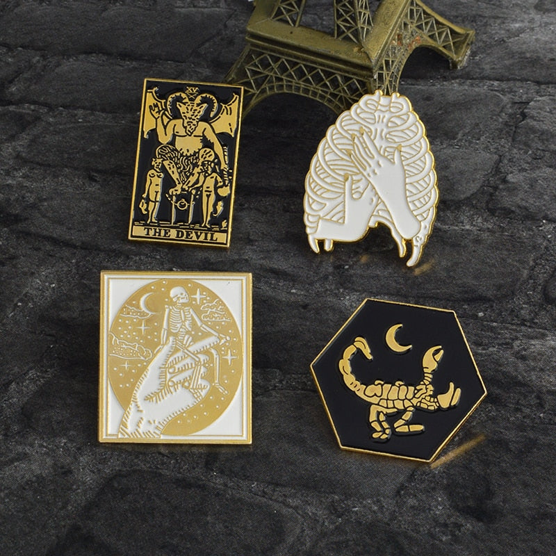 Dark Spells Pins