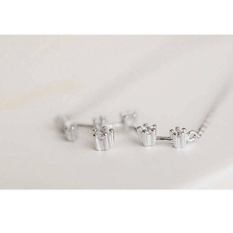 Virgo Constellations Necklace