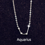 Aquarius Constellations Necklace