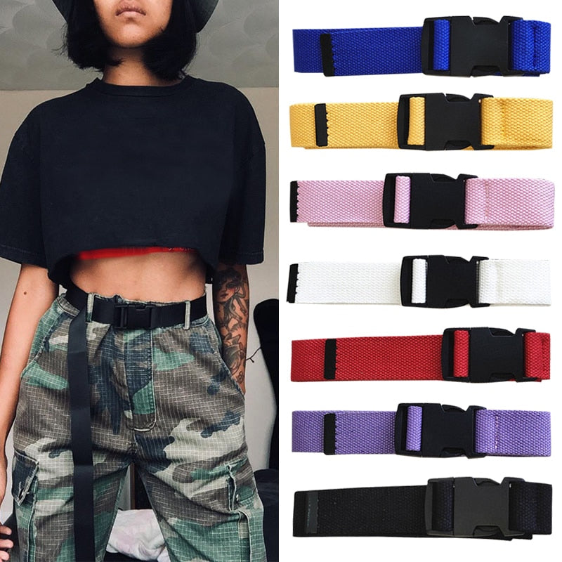 Solid Snap Buckle - All Colors