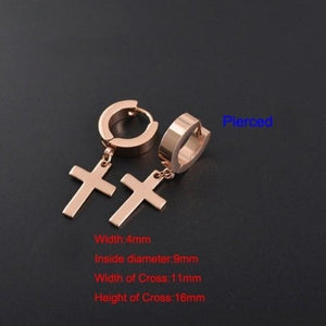 Trendy Unisex Clip Rocker Earrings