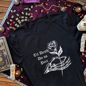 Til' Death Do us Part Graphic T-Shirt