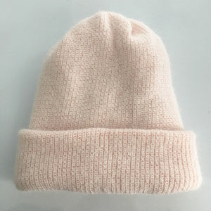 Cashmere Knitted Beanie - Various Colors