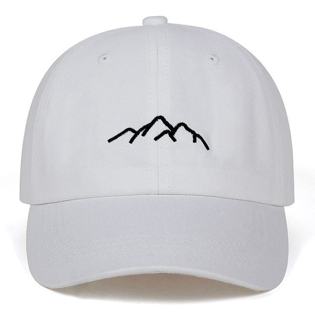 Cool Mountain Range Design Cap