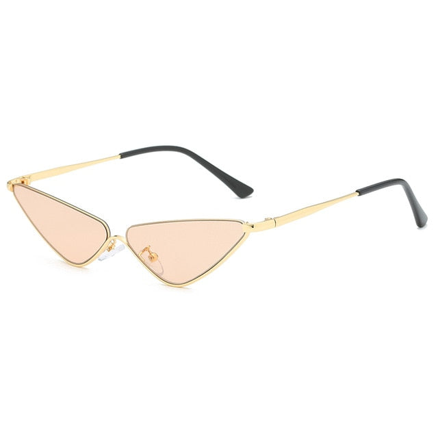 Retro Small Cat Eye Sunglasses