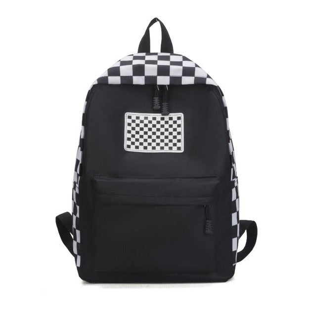 Street Black and White Backpack