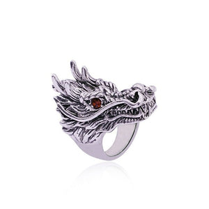 Metal Chinese-Style-Dragon Ring