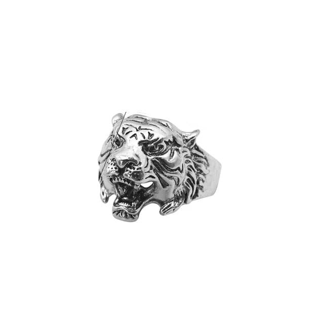 Metal Tiger Unisex Ring