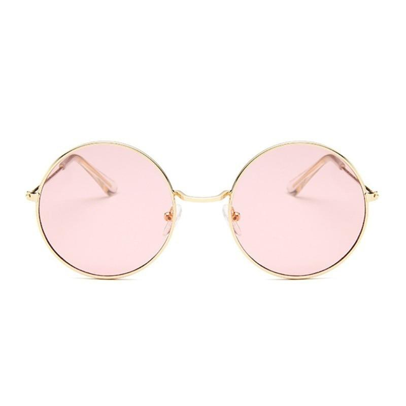 Brand Name: AKLFHNC  Department Name: Adult Gender: Women  Style: Round  Eyewear Type: Sunglasses Item Type: Eyewear