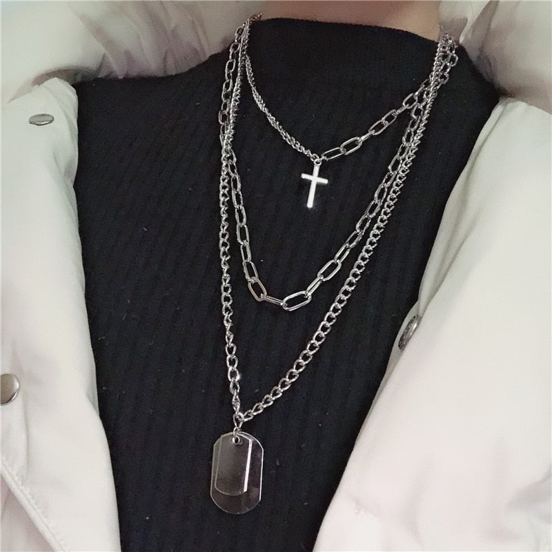 Fine or Fashion: Fashion Model Number: Necklace 2019 Style: TRENDY Occasion: Party Material: Metal is_customized: Yes Shape\pattern: Geometric Occasion: Anniversary, Engagement, Gift, Party, Wedding Design: Choker Necklace Mode: Crystal Necklace Draft: Pendant Necklace Weight: 70g Length: 45cm, 60cm, 70cm