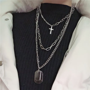 Brand Name: KMVEXO Metals Type: Zinc Alloy Necklace Type: Pendant Necklaces Gender: Women Function: Mood Tracker Chain Type: Link Chain Item Type: Necklaces Pendant Size: 7.5cm Compatibility: All Compatible