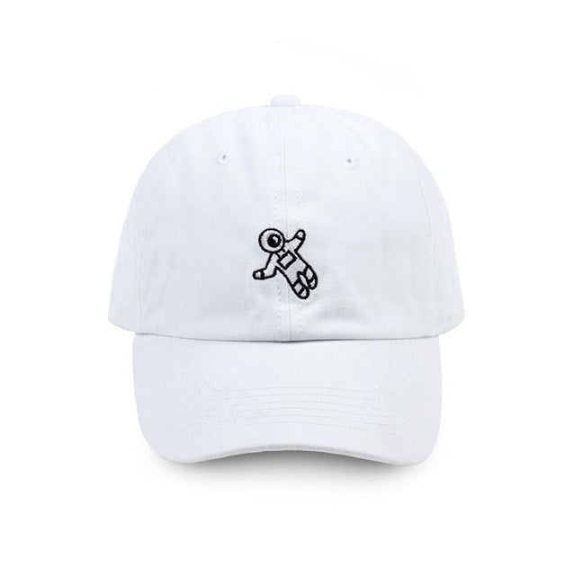 Floating Spaceman Baseball Cap