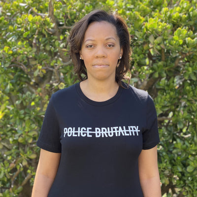 """Police Brutality"" Stronger After Unisex Jersey Short Sleeve Tee"
