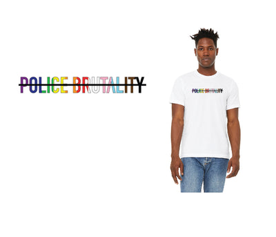 """Police Brutality - PRIDE"" Stronger After Unisex Jersey Short Sleeve Tee"