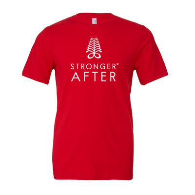 """Don't Stop Red"" Stronger After Unisex Jersey Short Sleeve"