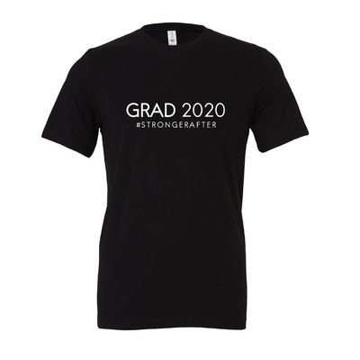 """Grad 2020"" Stronger After Unisex Jersey Short Sleeve Tee"