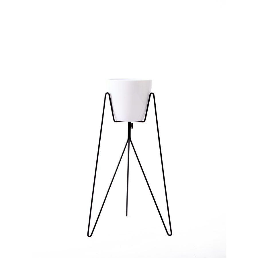 Plant Stand Flow White