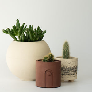 Sphere Pot Beige