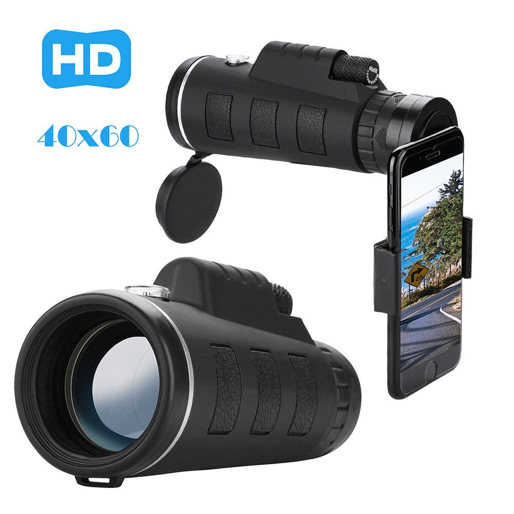 Optical HD Lens Monocular Telescope for Cell Phone (40X60 Zoom)