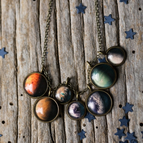 Trappist-1 Layered Necklace
