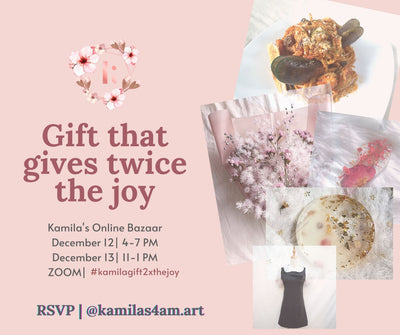 Kamila's Online Bazaar: Gift that gives twice the joy